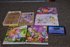 puzzles and learning tablet in Okinawa, Japan