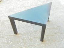 triangular end table in Ramstein, Germany