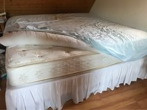King Bed, Box Spring, Bed Skirt, Mattress Pad in Ramstein, Germany