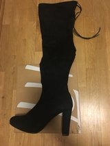 Black Boots (Size 9) in Ramstein, Germany