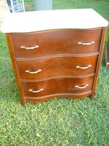 Marble Top Dresser in Fort Campbell, Kentucky