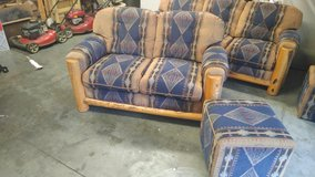 Western couch and love seat in Fort Riley, Kansas