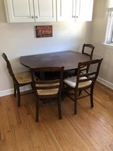 Pottery Barn Shayne table and 4 chairs kitchen or dining in Plainfield, Illinois