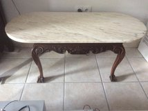 Antique coffee table in Ramstein, Germany