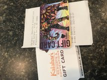 $500 Wisconsin Dells - Kalahari Waterpark gift card in Lockport, Illinois