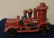 Cast Iron Toy Fire Engine Firetruck Antique Repro in Houston, Texas