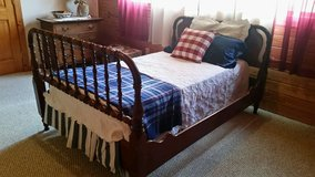 Antique Jenny Lind Frame and Bed in Macon, Georgia