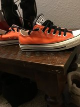 Converse SF Giants colors customized 6.5 like new in Fairfield, California