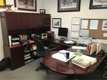 Large U-shaped desk in Fort Polk, Louisiana