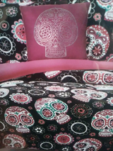Sugar Skulls bedding in Kingwood, Texas
