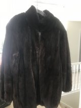 Brown reversible fur/leather in Indianapolis, Indiana