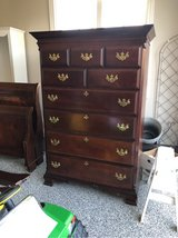 Large cherry dresser in Chicago, Illinois