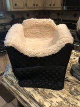Dog bed for the car with compartment, for a small dog in Spring, Texas