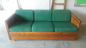 Solid Pine Couch (This Ends Up Furniture Company) in Warner Robins, Georgia