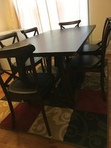 Dining table and chairs in Tacoma, Washington