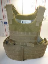 Survival Armor Plate Carrier with level III soft armor and level III/IV Hard plate armor size small in Camp Pendleton, California