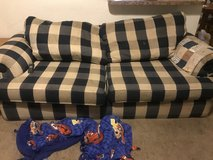 Love seat and sofa in Baytown, Texas