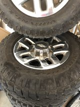 2015 Silverado 3500 OEM wheels and tires in Fort Meade, Maryland