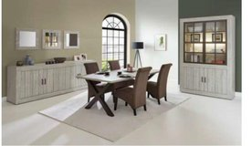Antonia Dining - ---- China + Table + 4 Chairs + Sideboard including delivery in Stuttgart, GE