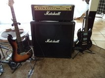 Marshall 2000 G100R head and Cab in Yucca Valley, California