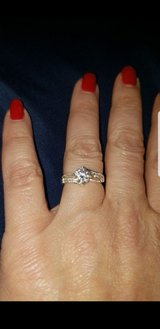 size 6 Cubic Zirconia ring in Yorkville, Illinois