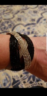 Black n Silver bracelet in Aurora, Illinois
