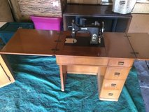 Antique Singer Sewing machine from the 50's in Schaumburg, Illinois