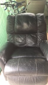 Black leather recliner in 29 Palms, California