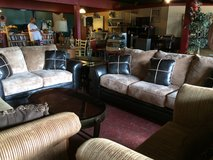 Ashley Couch and Loveseat Living Room Set in Leesville, Louisiana