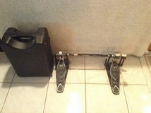 Pre owned Tama Iron Cobra Power Glide double bass pedal with case in Orland Park, Illinois