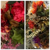 Faux flowers, all for $5 in Joliet, Illinois