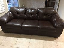 leather couch and love seat in Las Vegas, Nevada