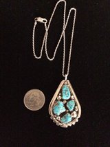 Sterling Silver & Turquoise Zuni Necklace in Livingston, Texas