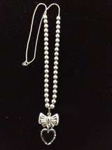 Sterling Silver Bow Necklace in Livingston, Texas