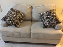 white couch and love seat in Las Vegas, Nevada