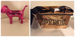 New with tag Victoria's Secret pink mini dog & cooler in Fairfield, California