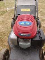 Lawnmower in Lakenheath, UK