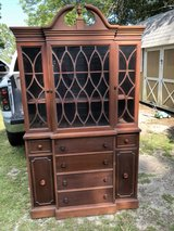 Antique China cabinet/ Secretary in Moody AFB, Georgia