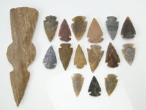 Native Indian Arrowheads & Tomahawk Head in League City, Texas