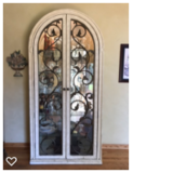"84"" Lighted Curio Cabinet in Naperville, Illinois"