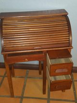 Vintage mini roll-up desk in Yucca Valley, California