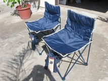 (2) Collapsable outdoor chairs in Camp Pendleton, California