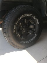 1995.5-2004 TOYOTA TACOMA WHEELS WITH TIRES in Fort Rucker, Alabama