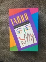 Taboo Board Game - Like new! in Lockport, Illinois