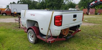 2018 Chevy Dually Bed (White), Tailgate, Rear Bumper, Receiver Hitch & Wiring Harness in Conroe, Texas