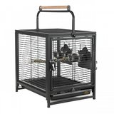 Prevue Pet Products Anodized Aluminum Travel Carrier for Birds in Oswego, Illinois