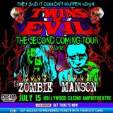 Rob Zombie & Marilyn Manson in St. Charles, Illinois