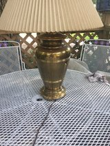Brass lamp in Cleveland, Texas