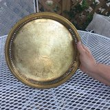 Brass tray in Cleveland, Texas