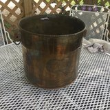 Solid brass plant holder in Cleveland, Texas